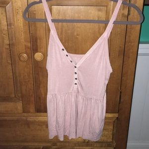 American Eagle pink tank top